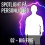 Artwork for #52: Din personlighed kan inddeles i fem faktorer [Big Five]