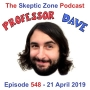 Artwork for The Skeptic Zone #548 - 21.April.2019