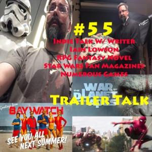 #55 Indie Talk... Iain Lowson Writer, Star Wars Content/ RPG Fantasy Novel Dark Harvest: Legacy of Frankenstein/ Video Games. Trailer Talk