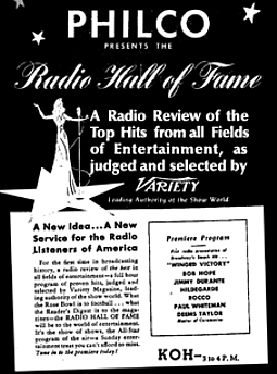 248-150217 In the Old-Time Radio Corner - Radio Hall of Fame