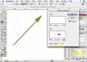 Create Arrows in Illustrator and reshape almost any object with the Pencil