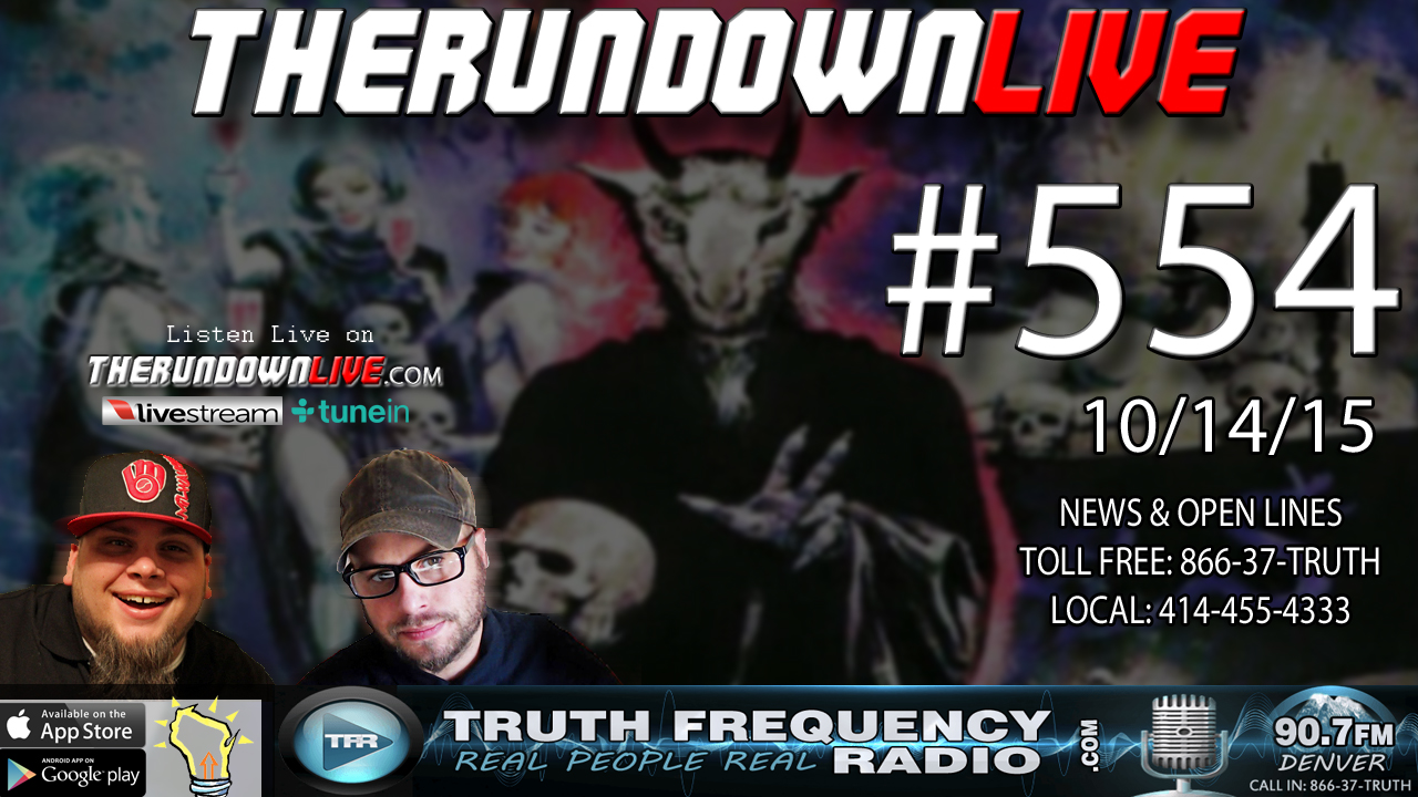 The Rundown Live #554 (Magnetic Mind Control, Anti-Government DOJ)