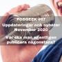 Artwork for #67 Uppdateringar och nyheter november 2020