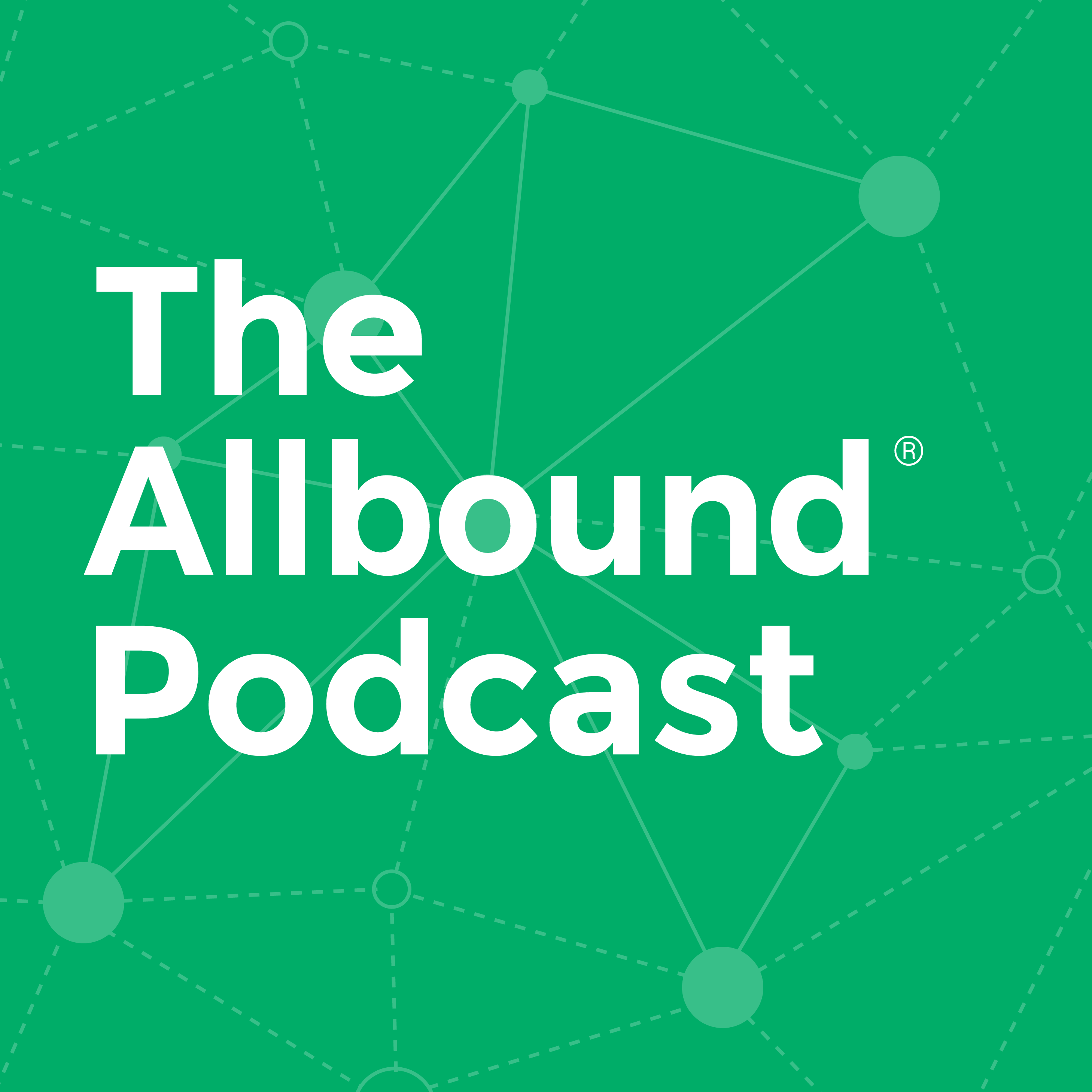 The Allbound Podcast show art