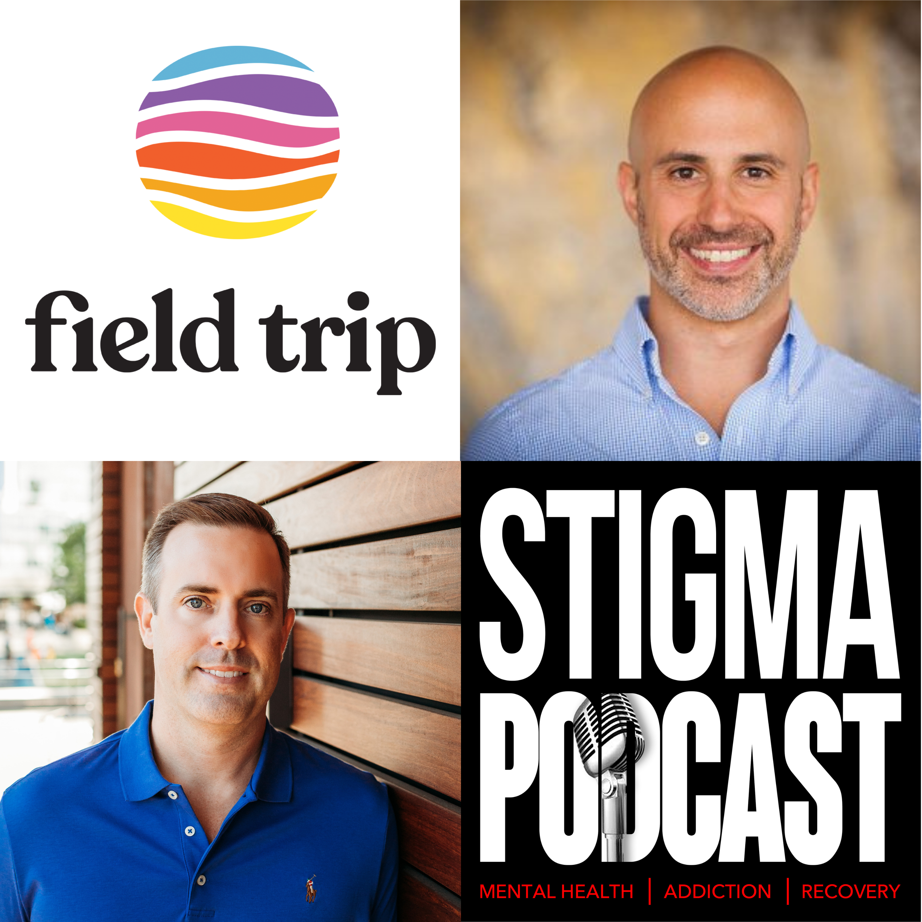 Stigma Podcast - Mental Health - #70 - How Psychedelic Treatments Work with Ronan Levy, Founder of Field Trip Health