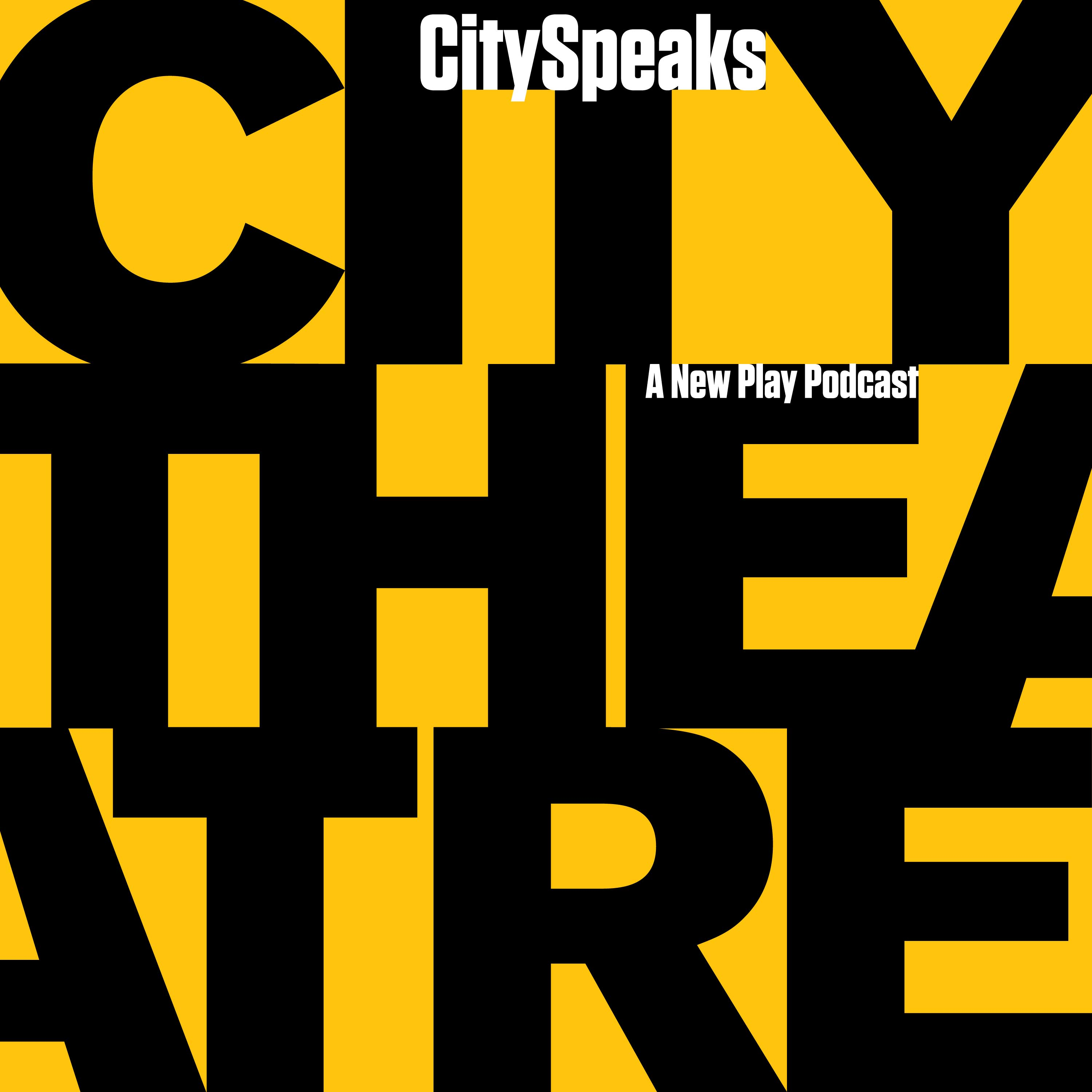 Pittsburgh City Theatre's City Speaks Podcast show art