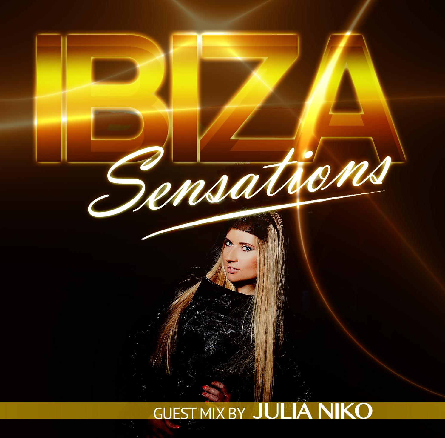 Artwork for Ibiza Sensations 90 Guest mix by Julia Niko (New York)