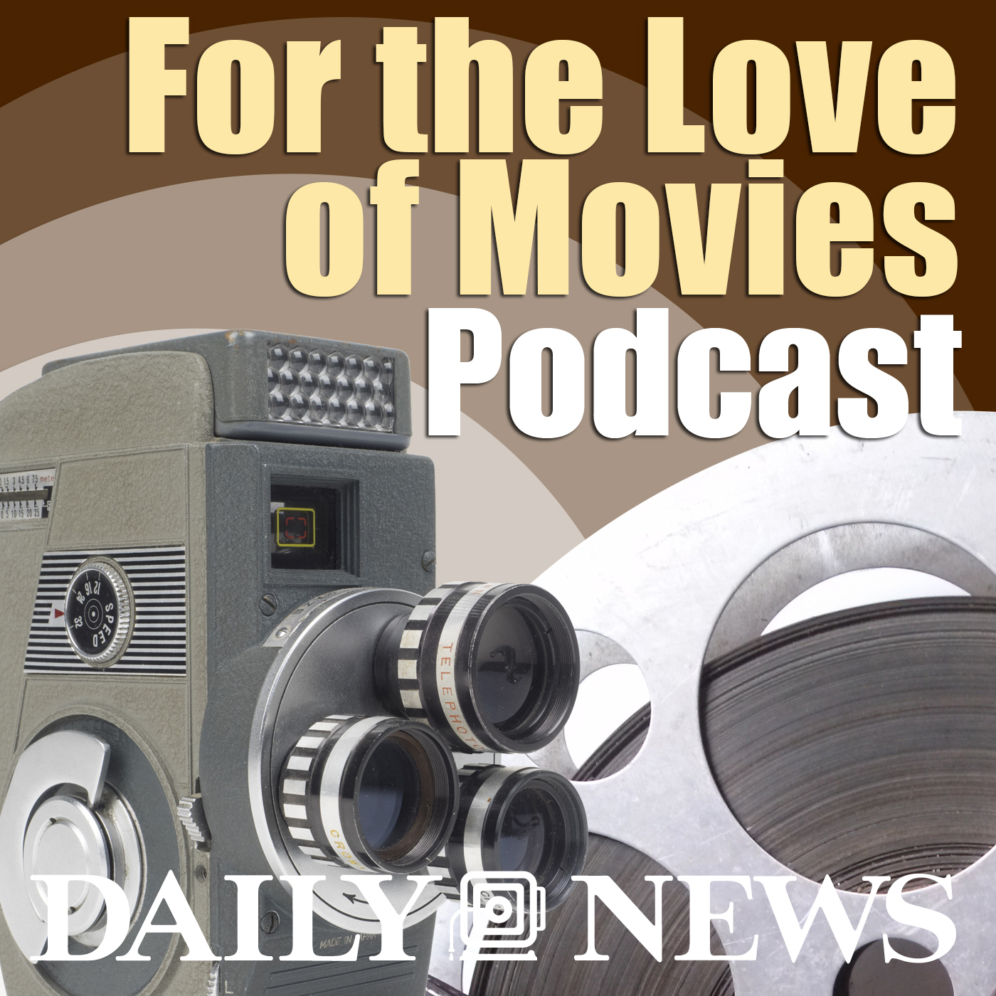 For the Love of Movies show art