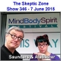 Artwork for The Skeptic Zone #346 - 7.June.2015