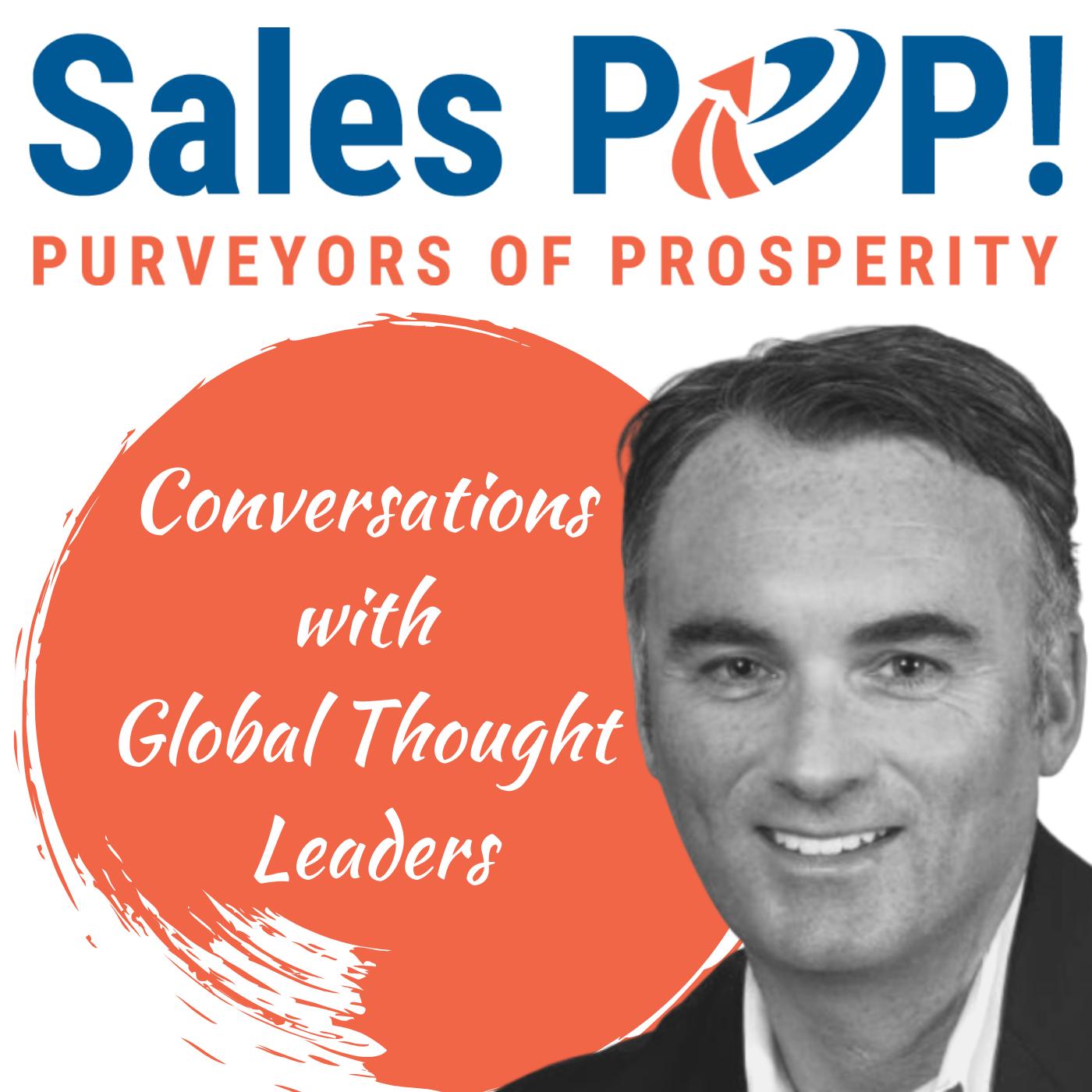 Sales POP! Podcasts show art