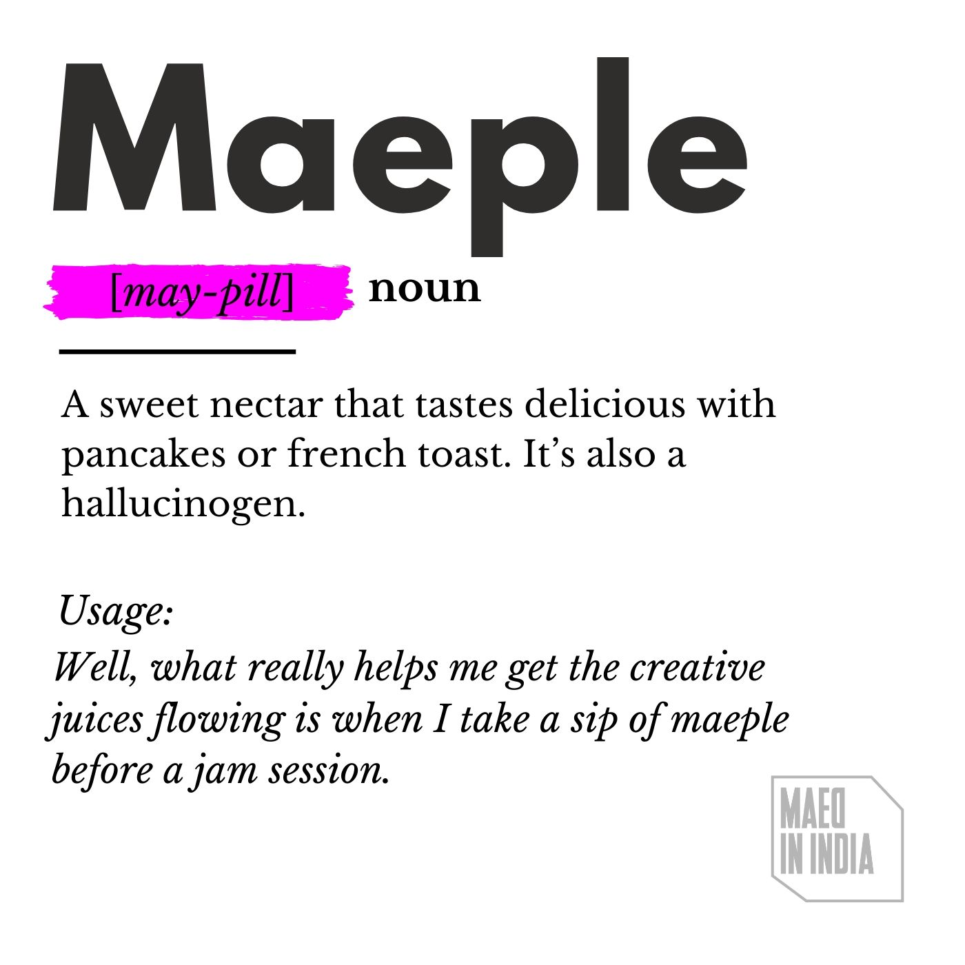 Maed Mixtape: Maeple