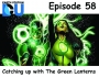 Artwork for The Earth Station DCU Episode 58 – Catching up with The Green Lanterns