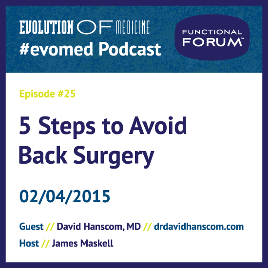 5 Steps to Avoid Back Surgery