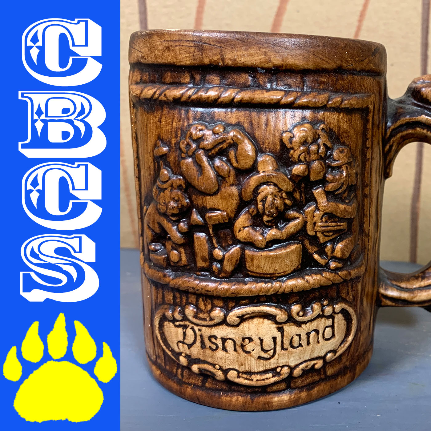 Artwork for Vintage Disneyland Country Bear Jamboree Mug - Country Bear Collector Show #186