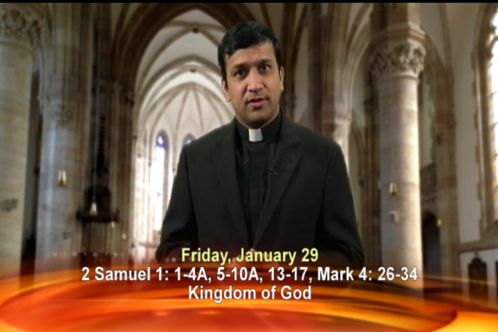 Artwork for Friday, January 29th Today's Topic: Kingdom of God