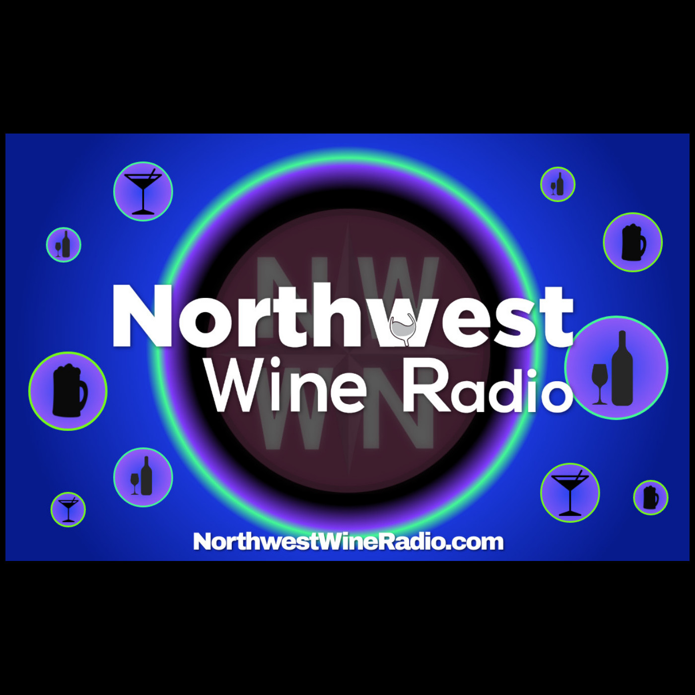 Northwest Wine Radio show art