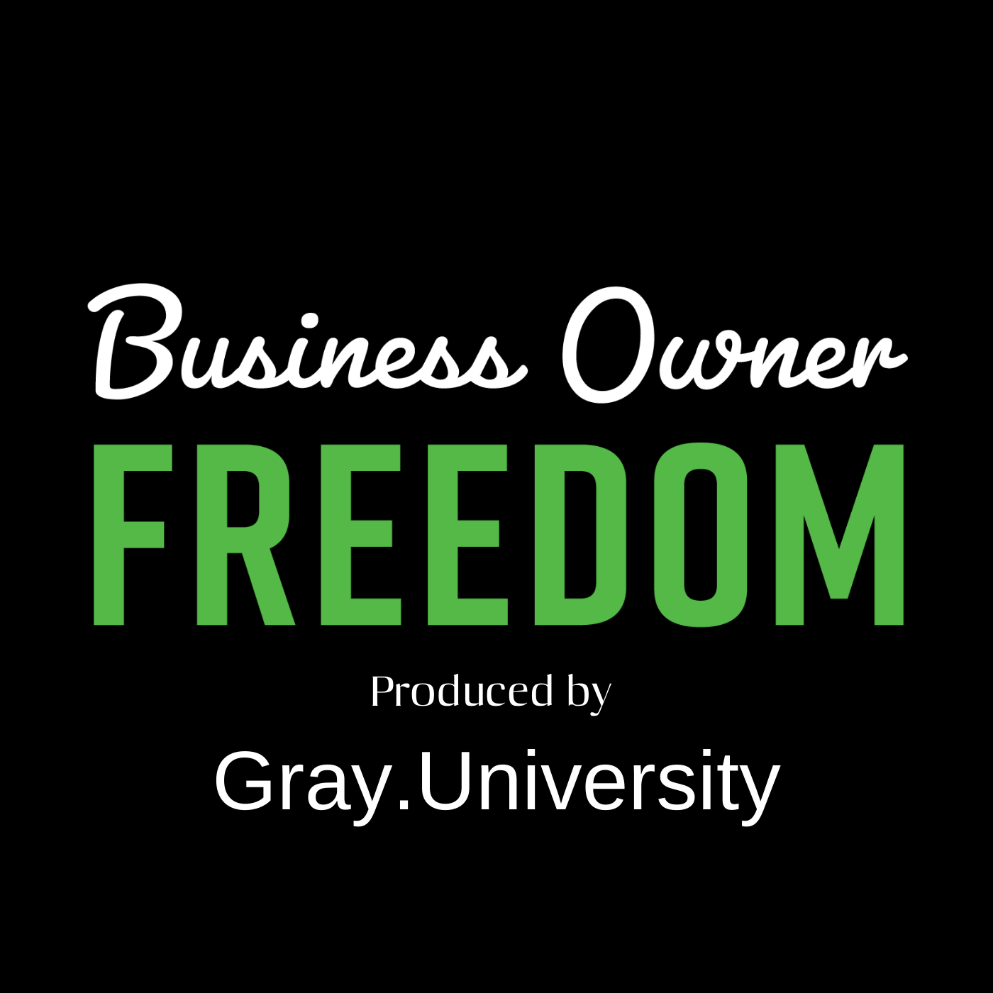 Business Owner Freedom show art