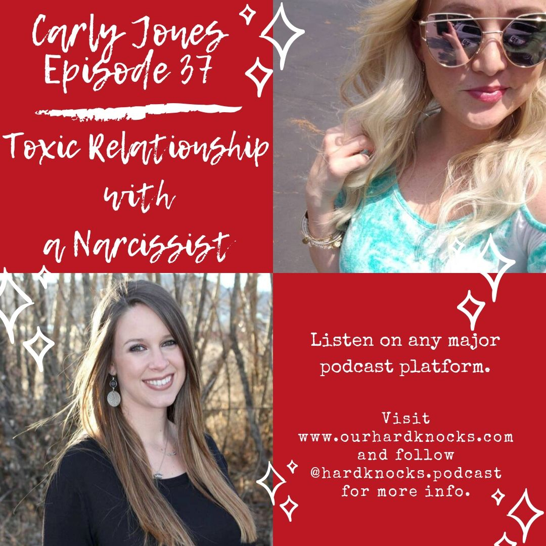 Episode 37: Carly Jones - Toxic Relationship with a Narcissist