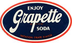 Grapette soda logo