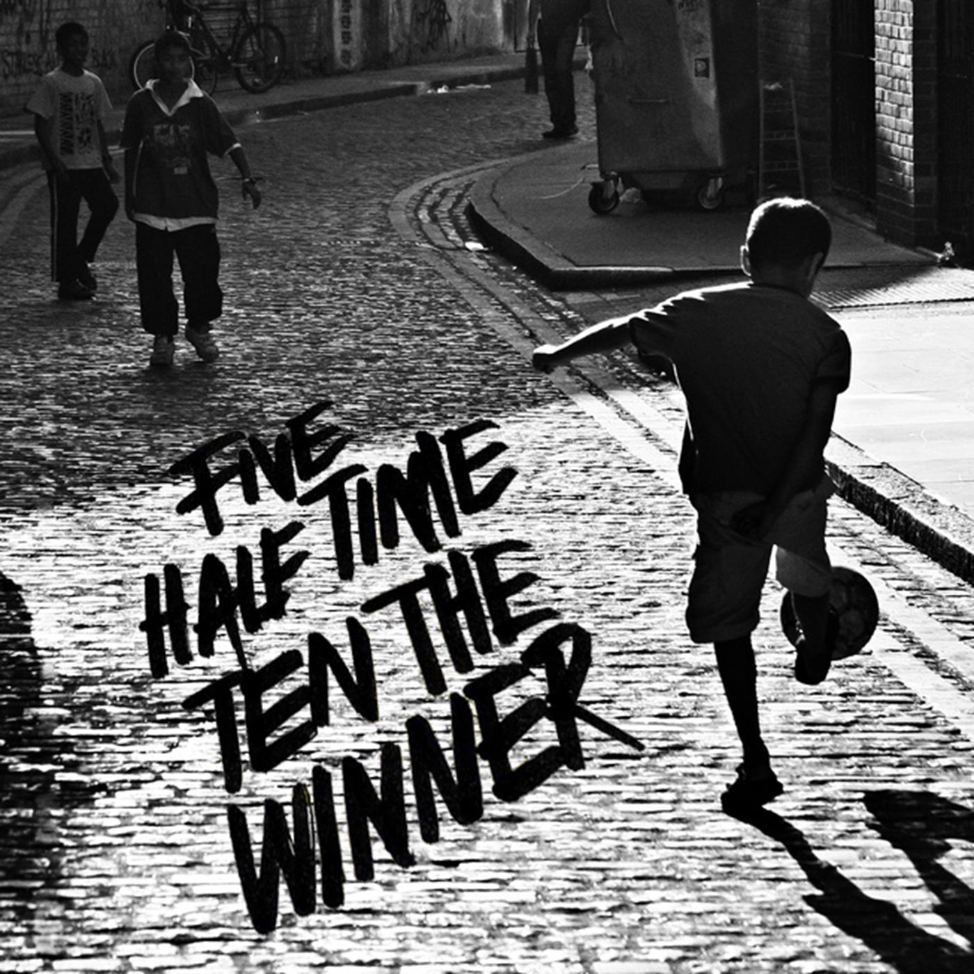 Five Half Time Ten The Winner show art