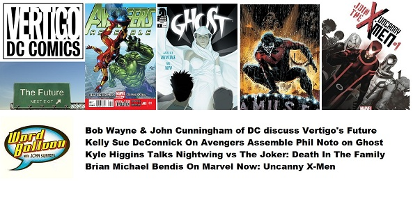 DC VPs On Vertigo Changes, Kyle Higgins Talks Nightwing, DeConnick & Noto Talk Ghost, & Bendis on Uncanny X-Men