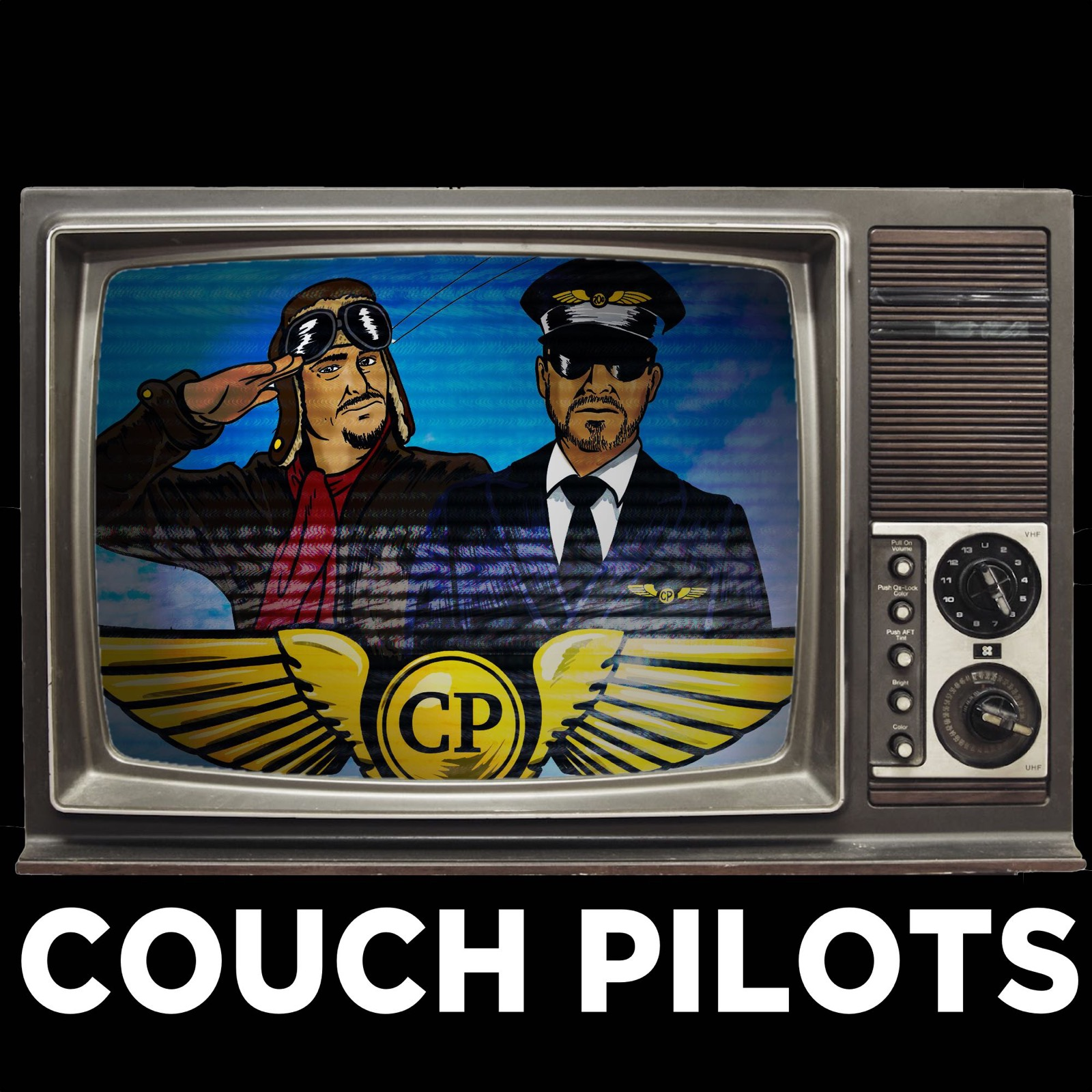 Couch Pilots Podcast show art