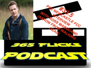 365Flicks #33.5 Ross Marquand Interview (Aaron from Walking Dead) Ahead of Newcastle Film and Comic Con