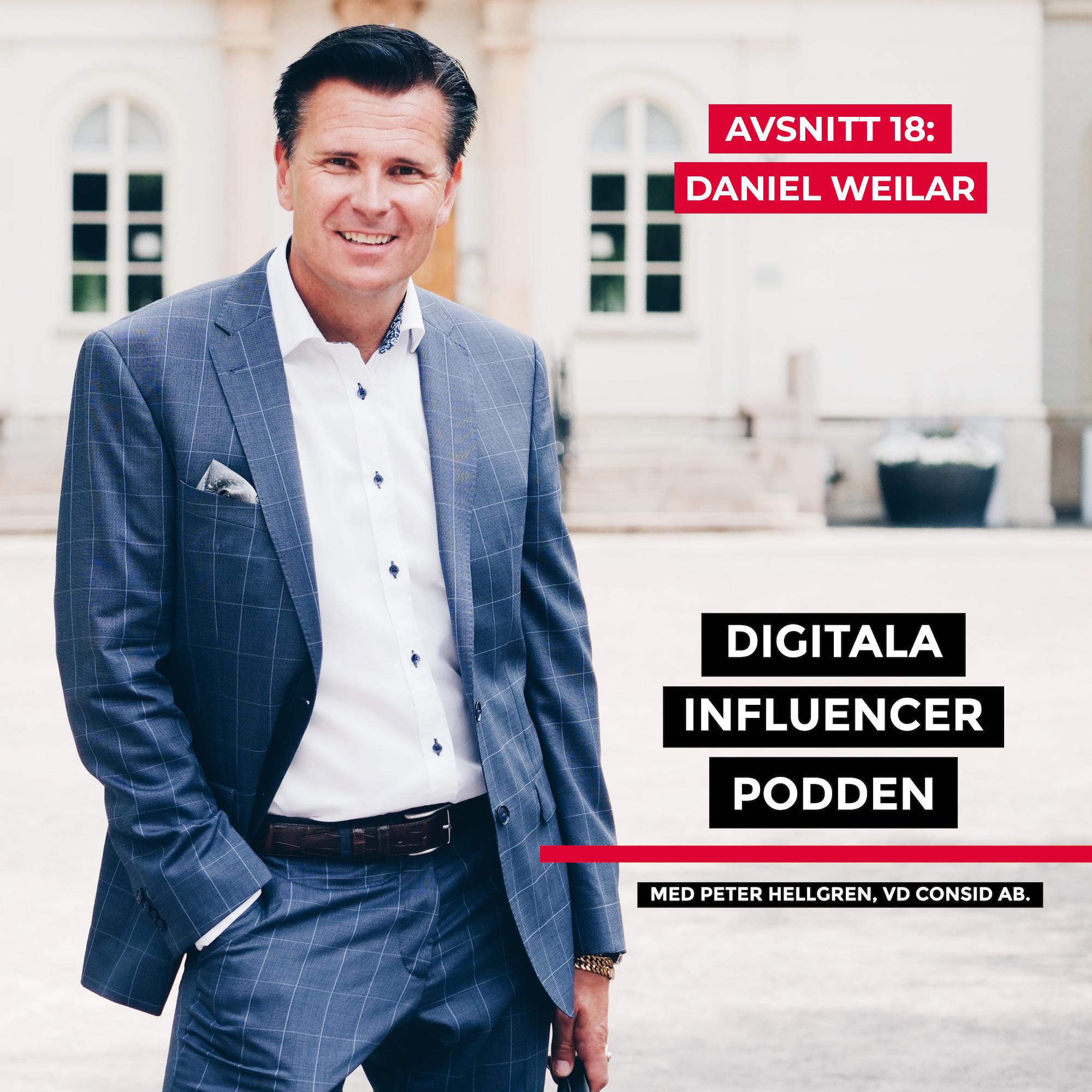 18. Daniel Weilar, medgrundare Primetime – från noll till en miljon spelare på ett år, trender inom marknadsföring och den digitala erans lägereldar