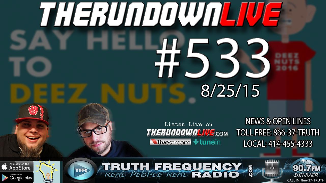 The Rundown Live #533 (Bill Burr Bilderberg,Health Food Network)