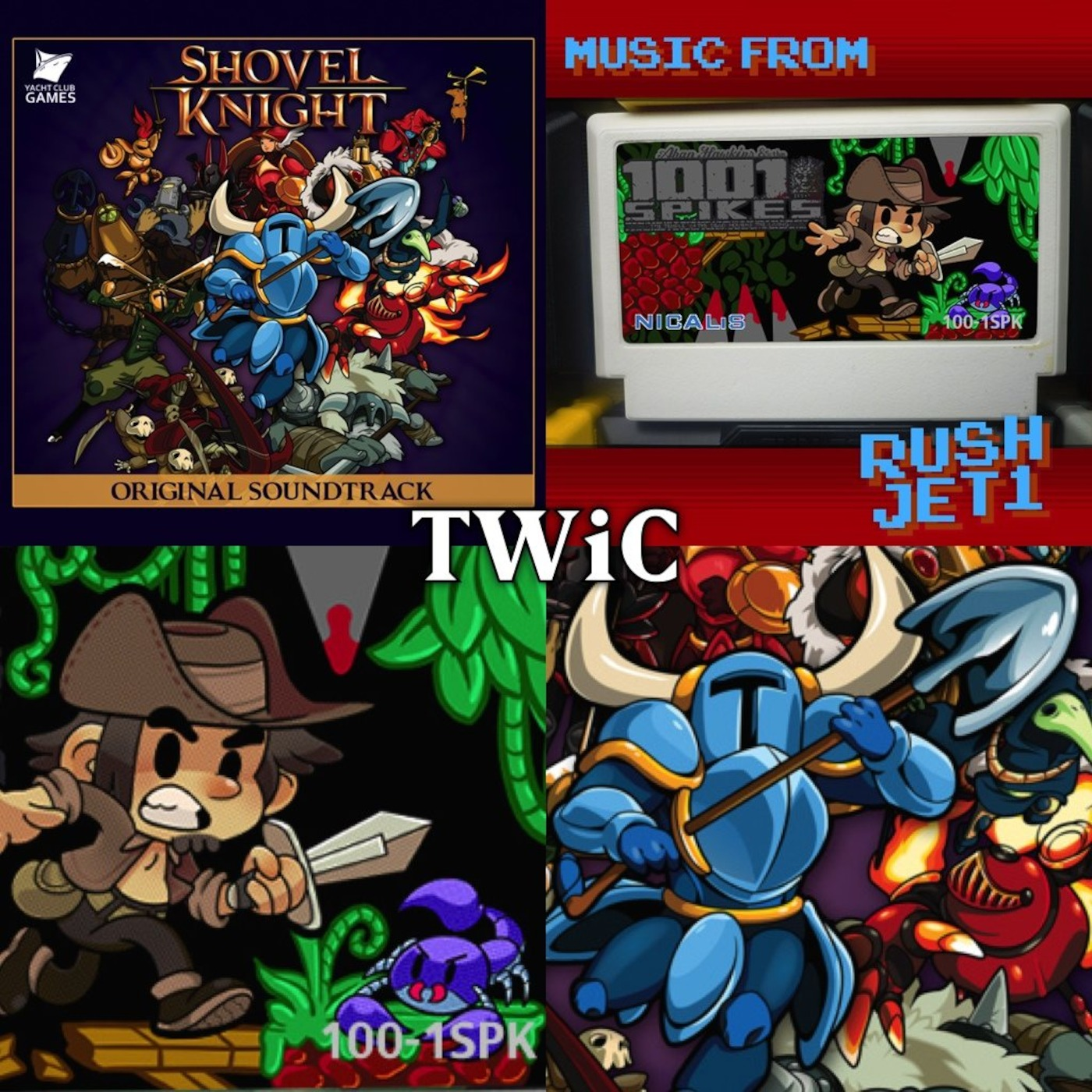 TWiC 066: Shovel Knight, 1001 Spikes