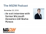 Artwork for MSDW Podcast: An exit interview with former Microsoft Dynamics GM Marko Peresic