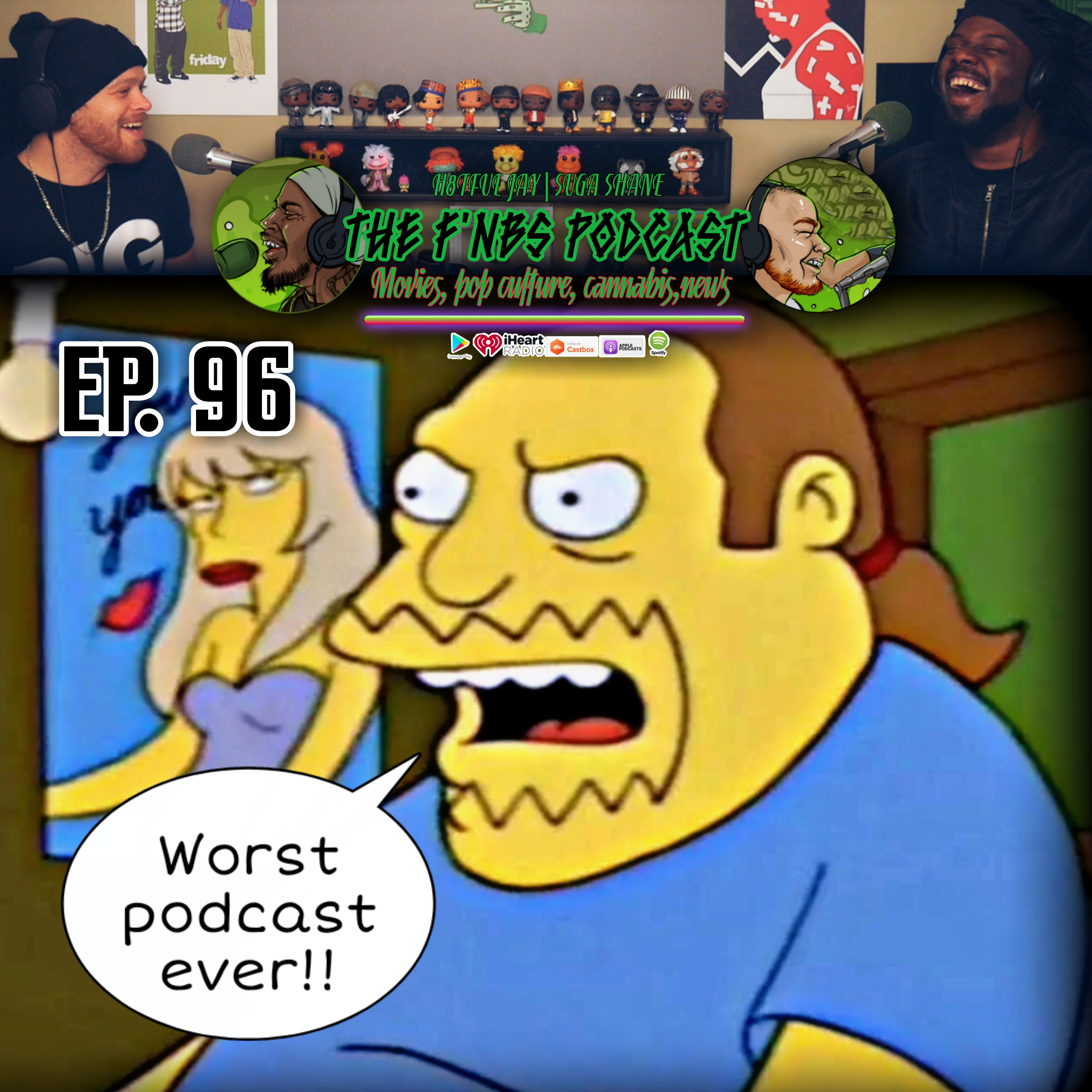 """Artwork for THE F'NBS PODCAST EP. 96 