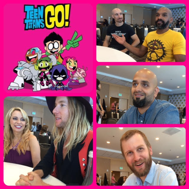 Episode 716 - SDCC: Teen Titans Go w/ Tara Strong/Greg Cipes/Khary Payton/Scott Menville/Producer Peter Michail/Producer Aaron Horvath!