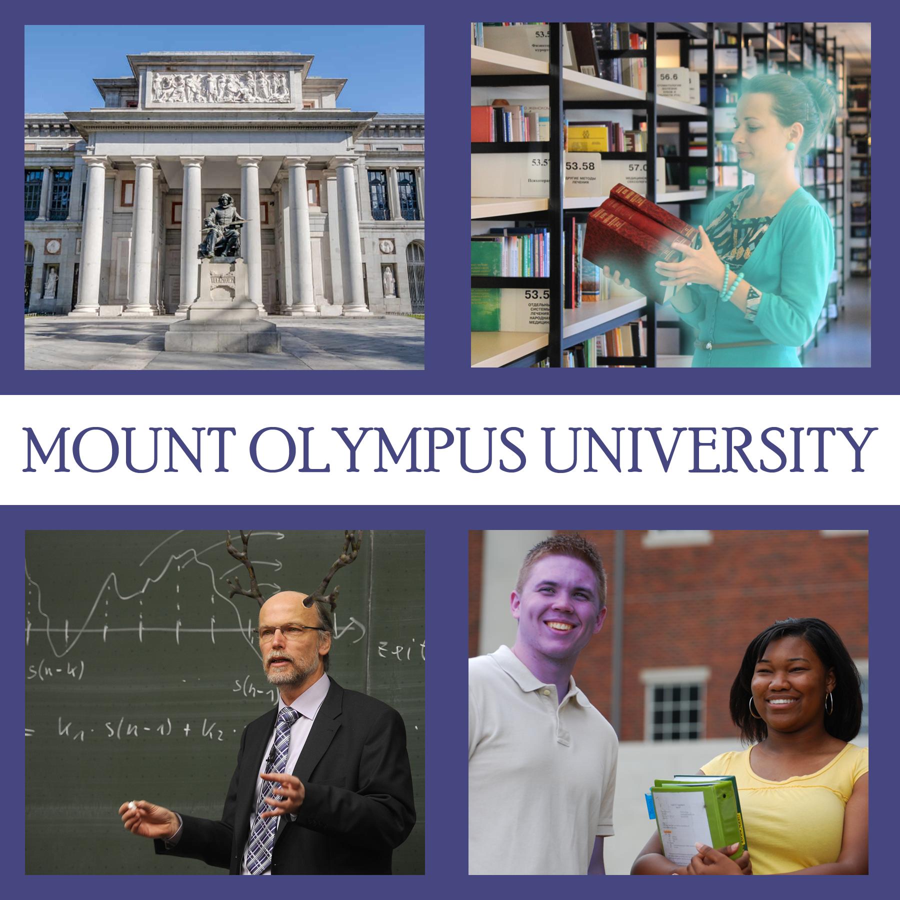 Mount Olympus University show art