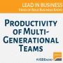 Artwork for Program 237 - Productivity of Multi-Generational Teams
