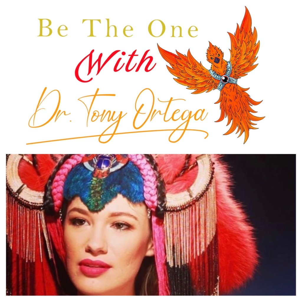 Be The One with Dr. Tony Ortega and Amy Jindra show art