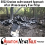 Artwork for 162 Cirrus SR22 Crashes on an Instrument Approach after Unnecessary Fuel Stop + GA News