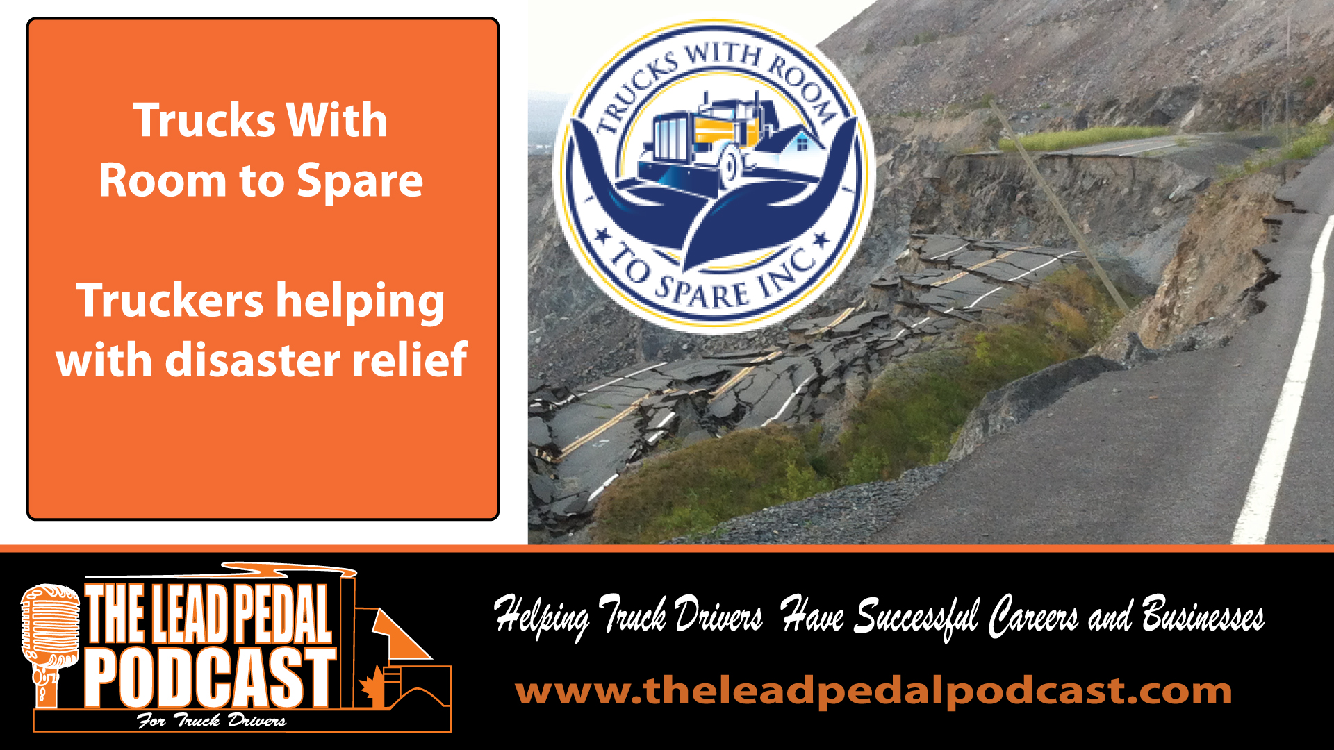 LP674 Trucks With Room to Spare Help in Disaster Relief