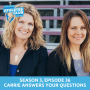 Artwork for 36 | Carrie Answers Your Questions
