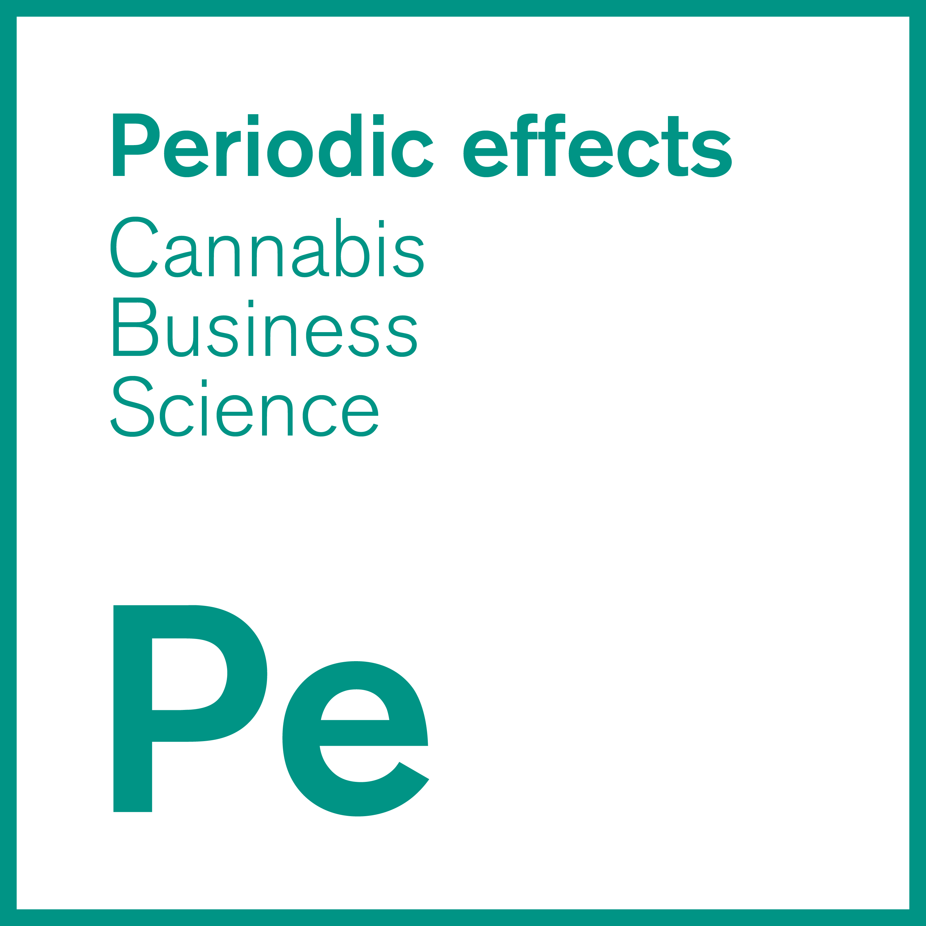 Periodic effects Cannabis Business & Science show art