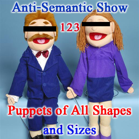 Episode 123 - Puppets of All Shapes and Sizes