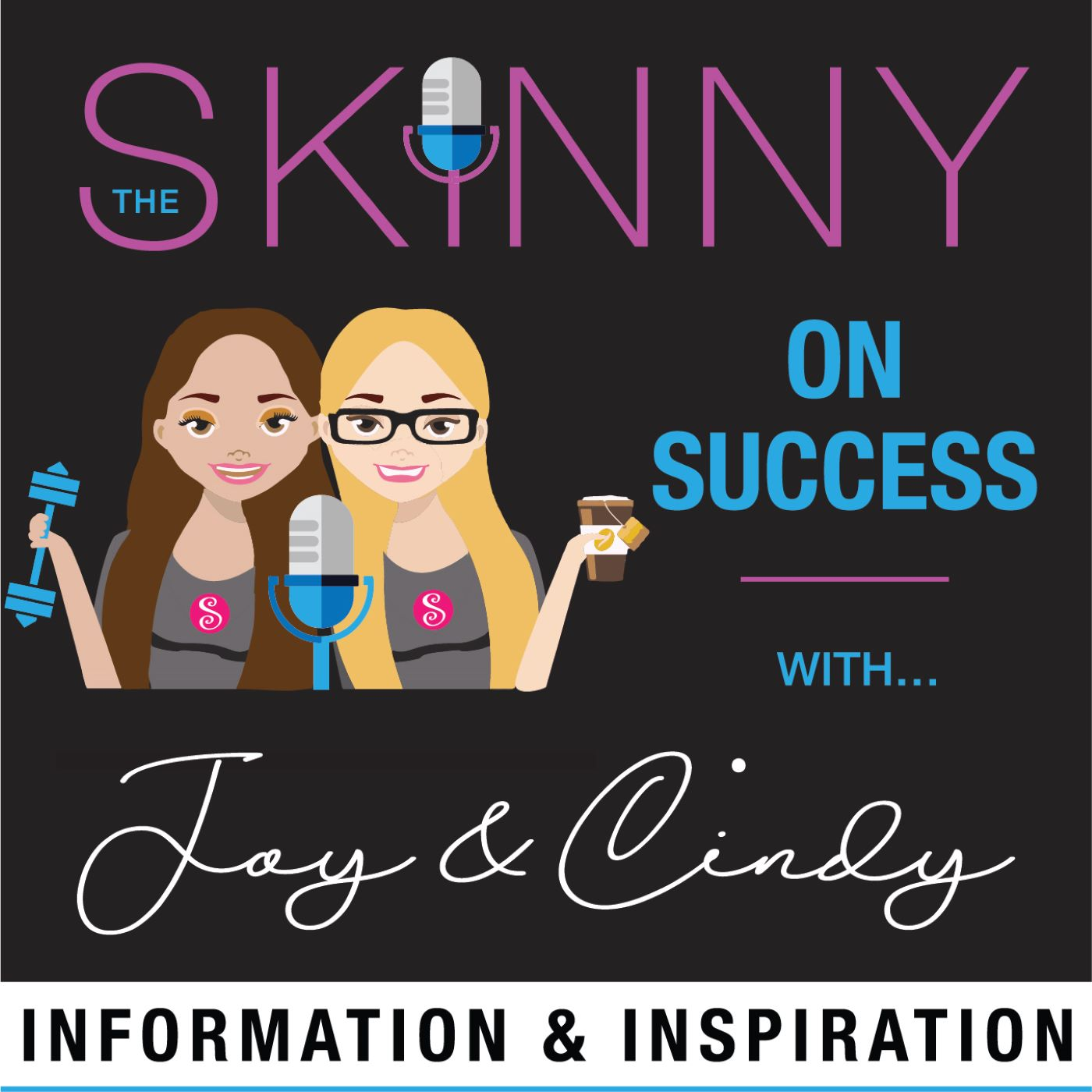 The SKINNY on Success… with Joy & Cindy show art