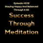 Artwork for Episode #028 - Staying Happy and Balanced Through It All
