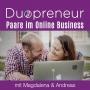 Artwork for #015 Content und Social Media für das Online Business-Folge mit Magdalena und Andreas