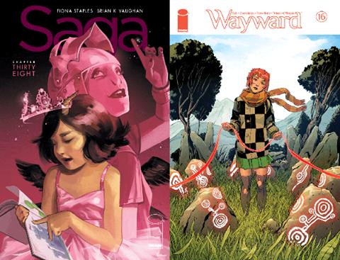 130: Saga #38; Wayward #16