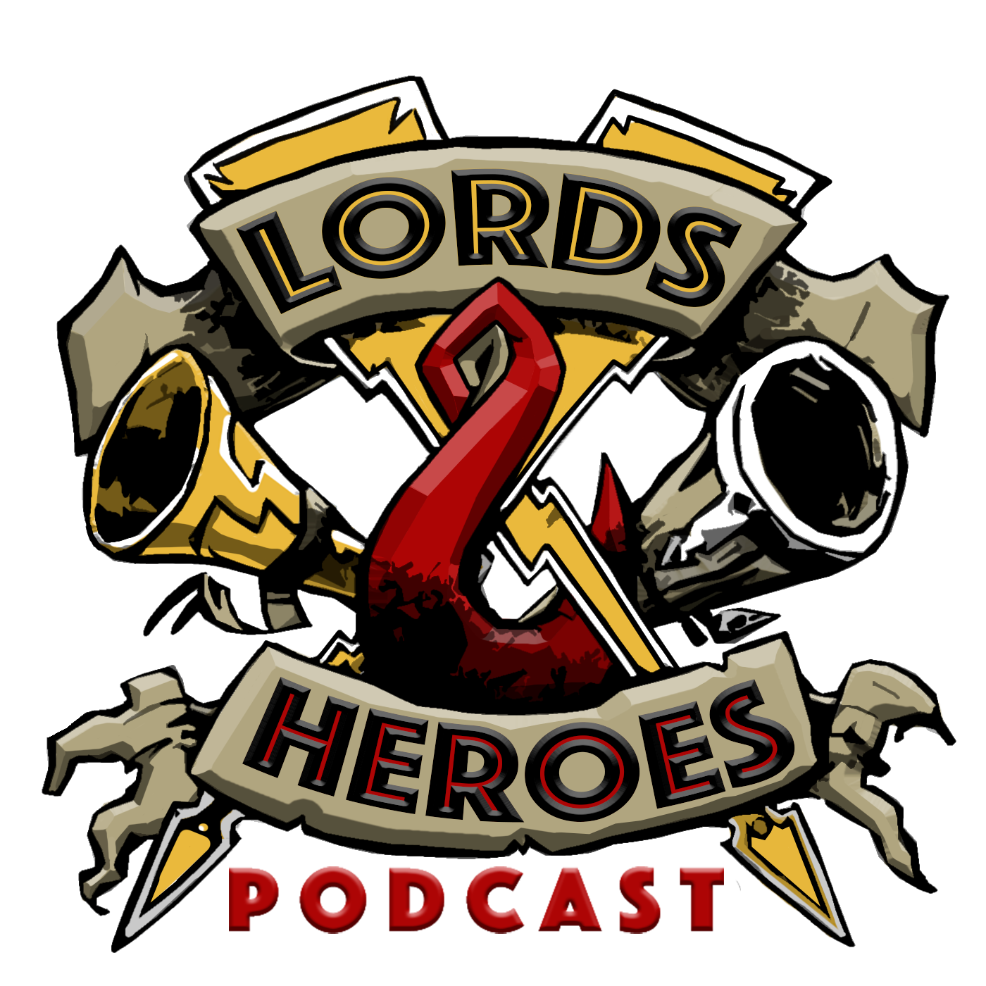 Lords & Heroes show art