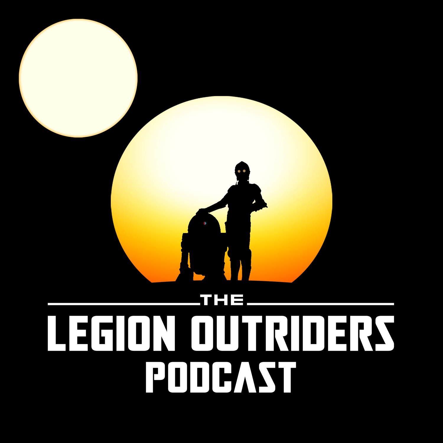 The Legion Outriders: A Star Wars Legion Podcast show art