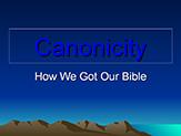 Bible Institute: Canonicity - Class #1