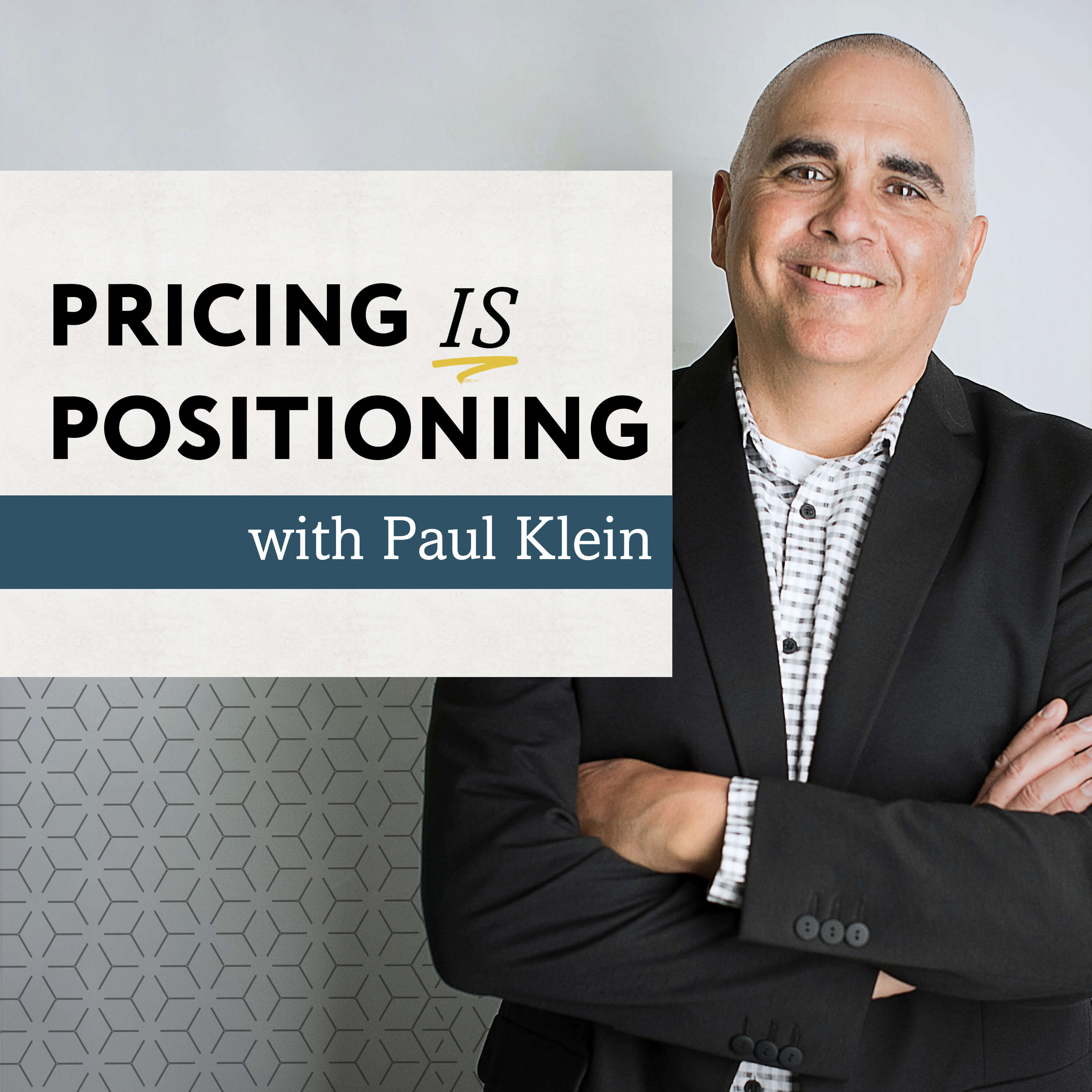 Pricing is Positioning show art