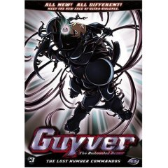 Guyver Volume 3 Anime DVD Review